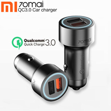 Xiaomi 70mai Quick Charge3.0 Dual USB Car Charger For Huawei Samsung s10 Iphone 5 6 7 8 70 mai Mobile Phone Fast