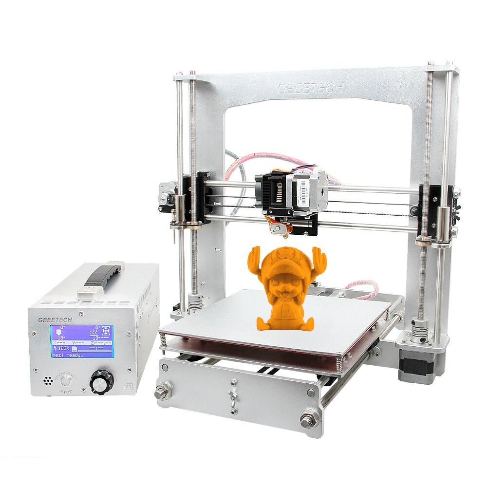 Geeetech 3D imprimante kit de bricolage tout en aluminium Reprap Prusa i3 haute précision avec LCD gratuit