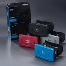Оригинальной коробке картона VR коробка виртуальной реальности VR Очки 3D Высокое качество шлем телефон Бесплатная доставка