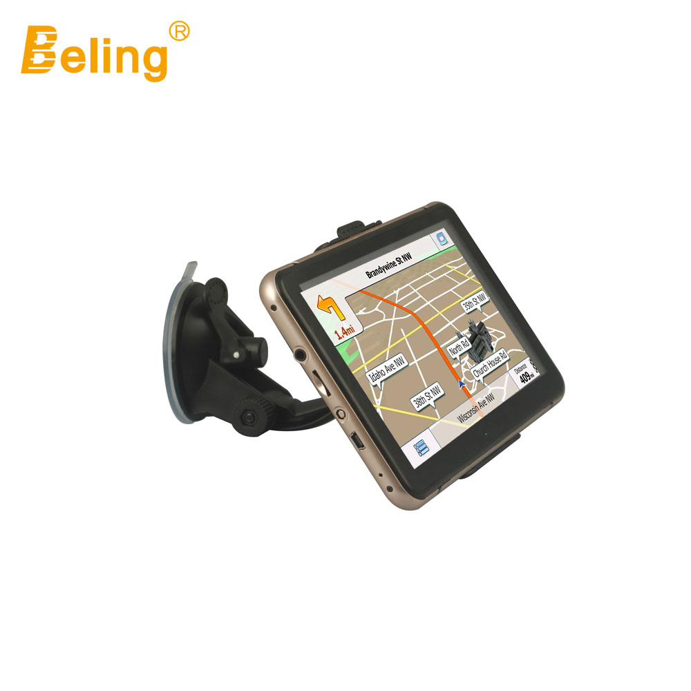 Beling G760 7 inch Touch Screen Car GPS Navigation Win CE 6.0 Tablet PC Vehicle Truck GPS Navigator FM HD 4GB 8GB MP3 MP4 Player 5 resistive screen win ce 6 0 car gps navigator w tf fm mic black 128gb multinational