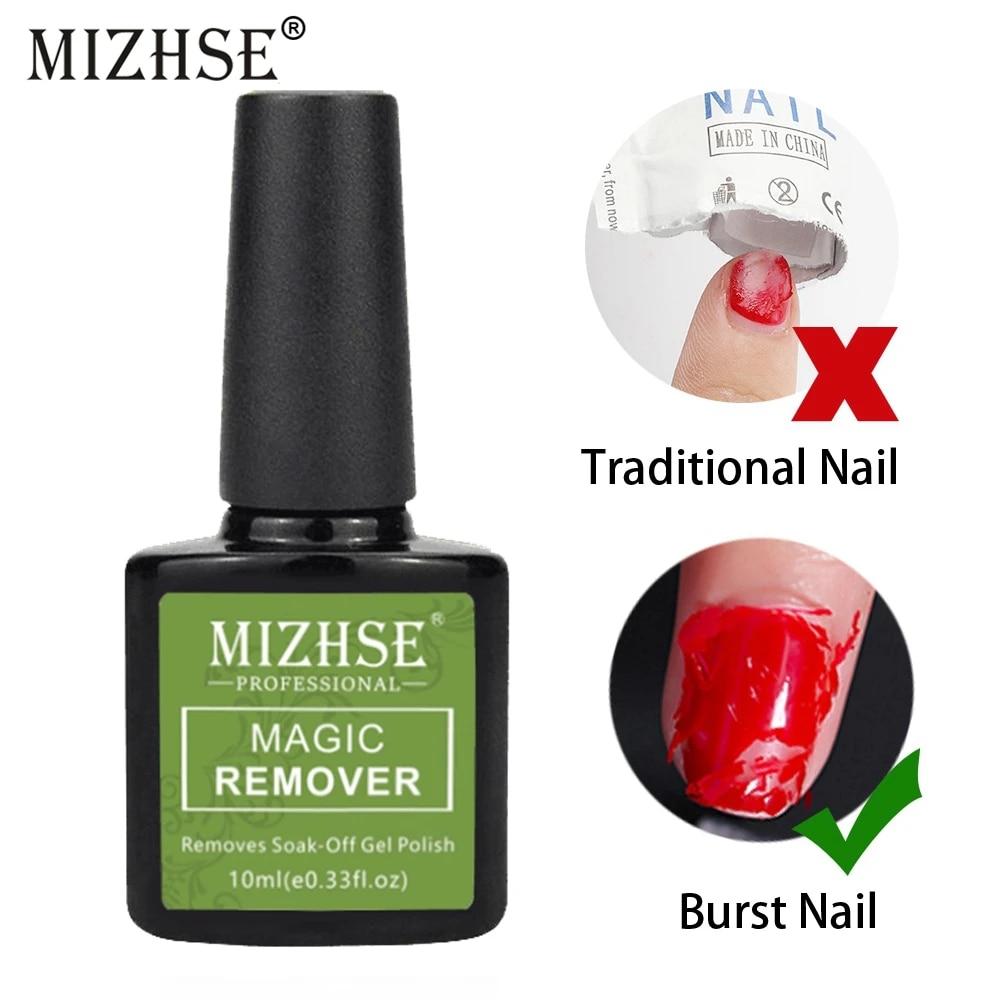 Vova   Burst Magic Remover Soak off Nail Art Primer Acrylic Clean Degreaser  Magic Remove UV Gel Nail Polish For Nail Lacquer