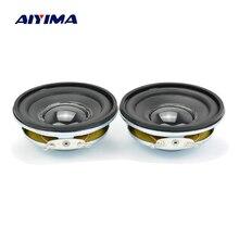 AIYIMA 2 pièces 2 pouces haut parleur 8Ohm 3W gamme complète haut parleur unités bord en caoutchouc haut parleur bricolage amplificateur son Home cinéma