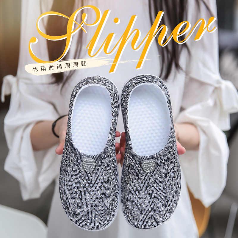 3d87f286fc Women Water Sandals Summer Slippers Lightweight Croc Beach Casual Bistro  Peppers 2018 Flip Flops Swimming Classic Garden Shoes