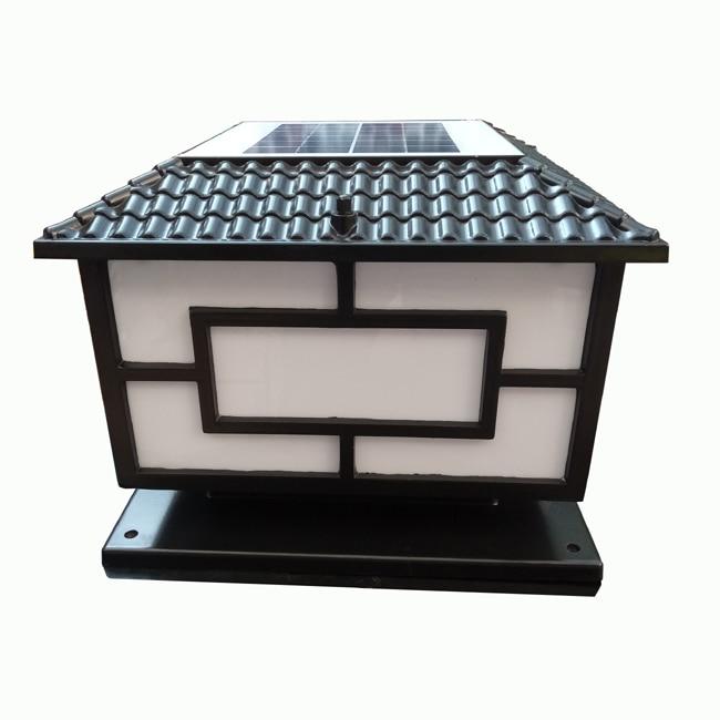 Alta qualidade solar pilar lâmpada led solar
