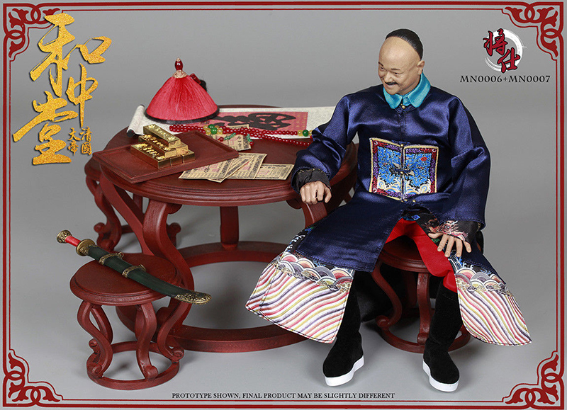Toys & Hobbies In Stock Collectible 1/6 Qing Empire Series Mn006 Military Minister Mn007 Desk And Chair Pa Full Set Figure Doll Neither Too Hard Nor Too Soft