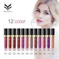 1Pcs Hot sale Huamianli Brand Makeup 12 Colors Long lasting Lip Gloss Waterproof Long Lasting Batom Liquid Matte Nude Lipstick