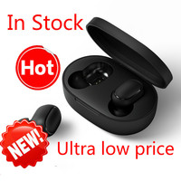 Original Xiaomi Redmi Airdots True Wireless Stereo 5.0 Headset Earbuds Wireless Bluetooth Earphone