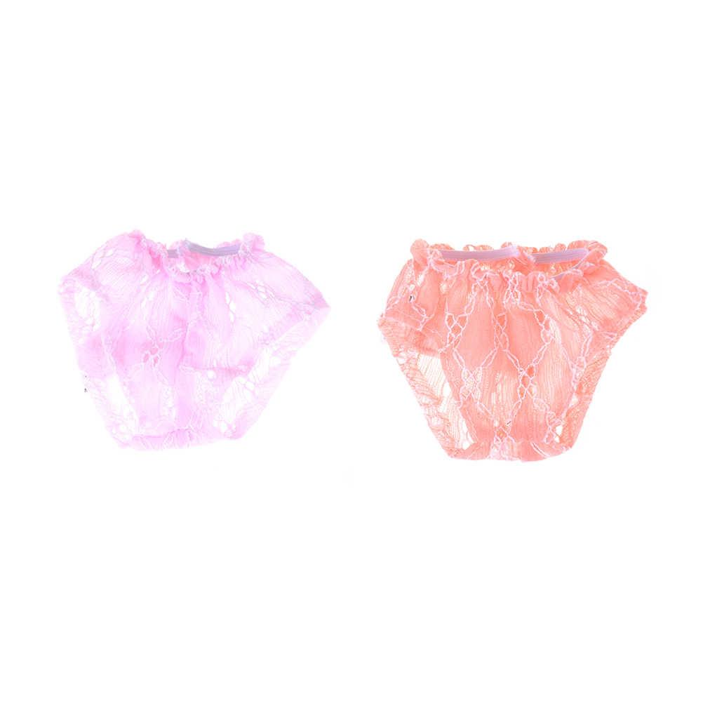 2 sztuk różowy kalesony lalki nosić 18in ubranka dla lalki dla dzieci najlepszy prezent urodzinowy akcesoria dla lalek