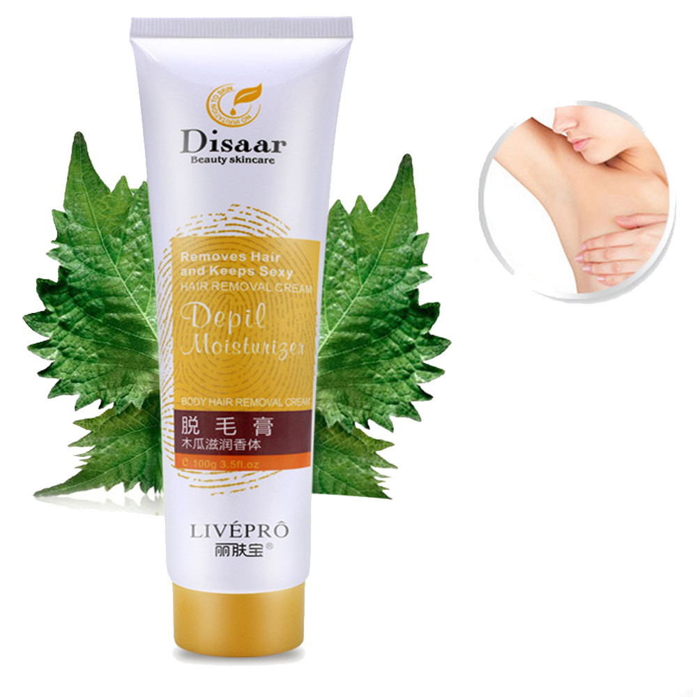 medium resolution of painless depilatory hair removal cream 100g for body leg armpit unisex painless hair removal cream nair