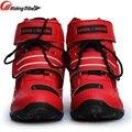 Бесплатная доставка; 1 пара; мотоциклетные ботинки из высококачественного волокна; Водонепроницаемая дышащая обувь для гоночного велосипе...