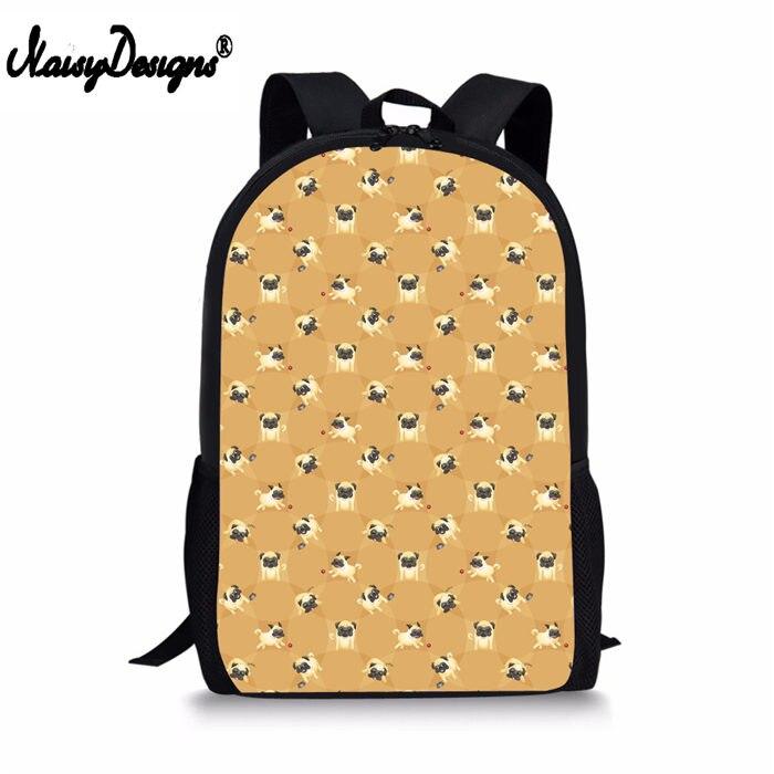Pug Polka Dot Backpack