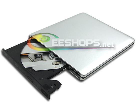 Best for Samsung Toshiba Ultrabook Super Slim USB 3.0 External Blu-ray Burner Dual Layer 6X 3D DVD Writer Drive Silver Case New toshiba samsung storage technology ts h552 купить
