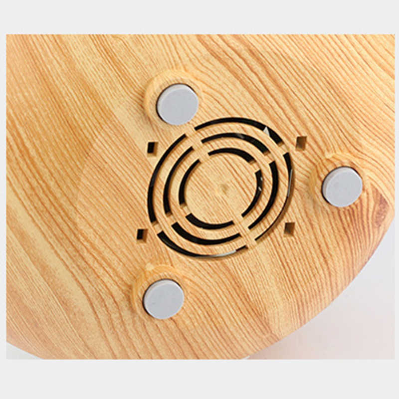 Electric Aroma diffuser wood Ultrasonic humidifier 230ml USB Essential oil Aromatherapy air diffuser LED Lights for home