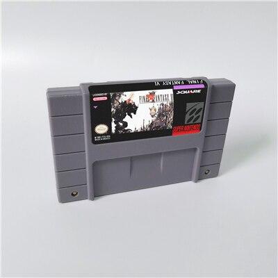 Final Fantasy Mystic Quest und Final Fantasy II III IV V VI-RPG Spiel Patrone Batterie Sparen Sie UNS Version