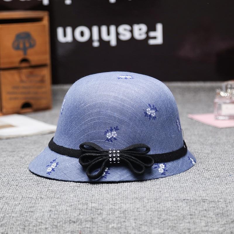 100% Cotton Sun Hat Bucket Summer Men Women Fishing Boonie Uv Protection Outdoor Beach Cap Packable Denim