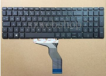 New For HP Pavilion 15-ab 15-ab000 15-ab100 15-ab200 15z-ab100 Series UK Laptop Keyboard Black