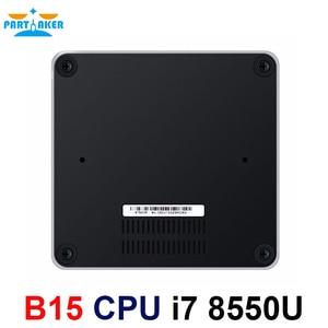 Image 2 - Partaker 8th Generation Intel Core i7 Processors i7 8550u Mini PC Windows 10 HDMI DP HTPC Graphics Max to 32GB Ram 512GB SSD