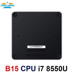 Image 2 - Partaker 8th Generation Intel Core i7 โปรเซสเซอร์ i7 8550u Mini PC Windows 10 HDMI DP HTPC กราฟิกสูงสุด 32GB RAM 512GB SSD