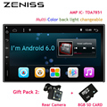 Envío Libre Táctil 2 din android radio de coche 2din Universal Nueva GPS del coche sin dvd del coche doble din PC Del Coche de vídeo Estéreo 705