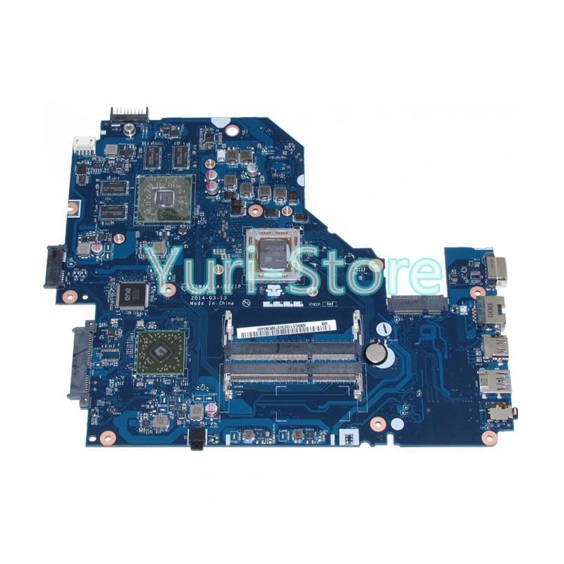 NOKOTION Z5WAK LA-B221P NB.MLE11.003 For acer aspire E5-551G REV 1.0 NBMLE11003 Motherboard DDR3 R7 M265 Video Card 100% test kefu q5wv8 la 8331p motherboard for acer aspire v3 551g laptop motherboard original tested v3 551 motherboard
