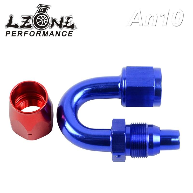Lzone 10an 10 An 180 درجة قطب النفط Fuel Gas خط وصلة طرف خرطوم محول