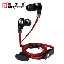 Original Langdom JM02 Super Bass Sound Earphone with Mic Remote Control HIFI for DJ Smart Phone Earbuds
