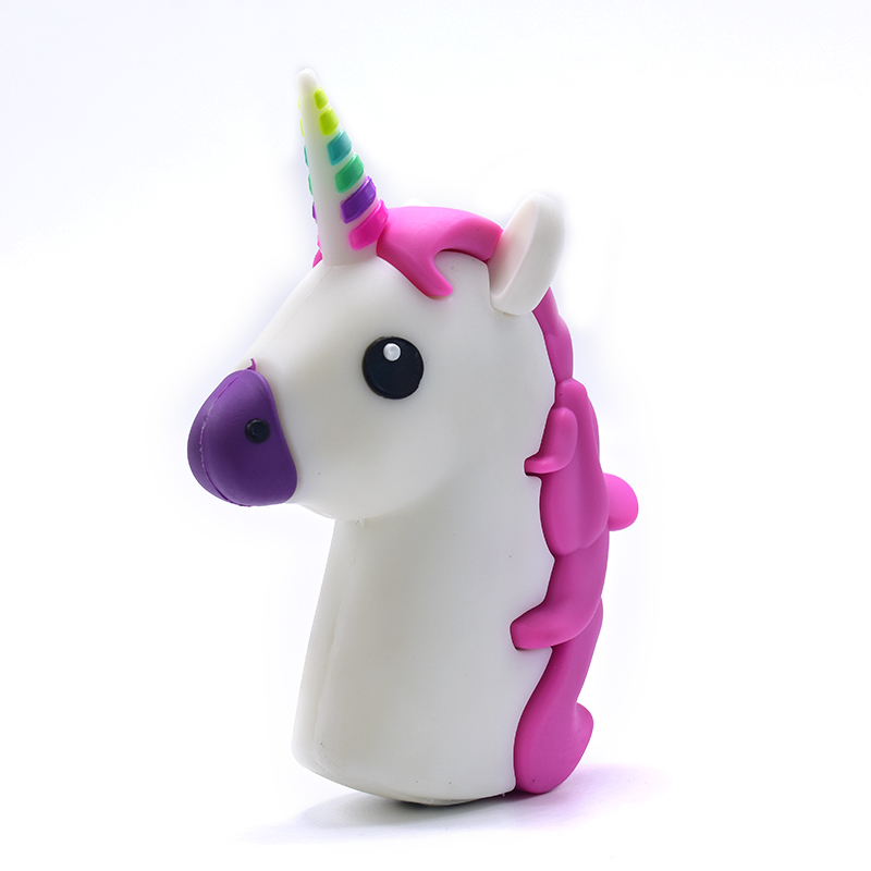 Ultra thin Portable <font><b>Power</b></font> <font><b>Bank</b></font> <font><b>6000mAh</b></font> Charger Unicorn Cartoon USB For Iphone 6 6S 7 8 8 plus Samsung <font><b>Xiaomi</b></font> image