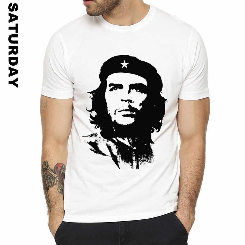 Kuba Große revolutionist Che Guevara Design Lustige T Shirt für Männer und Frauen, atmungsaktive Grafik Premium T-Shirt der Männer Streewear