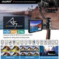 Lilliput A5 5 дюймов только 118 г FHD 1920x1080 4 К HDMI на Камера поле монитор трансляции монитор для Canon Nikon sony Zhiyun Gimbal