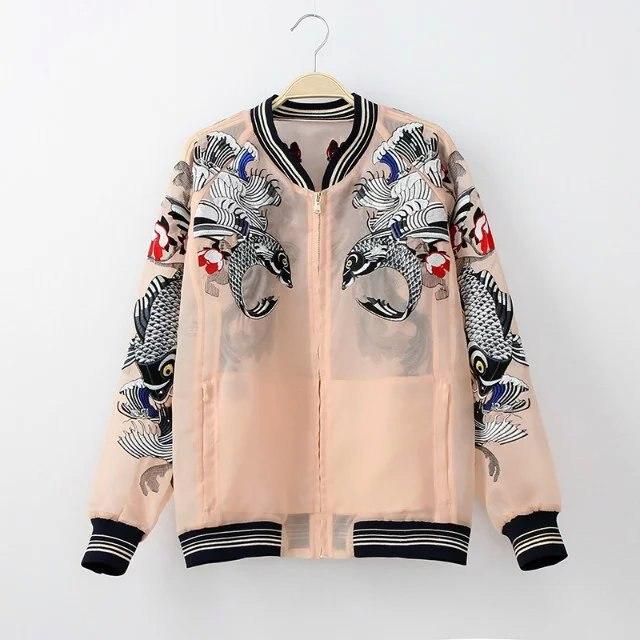 HTB1DdfAQpXXXXbFXpXXq6xXFXXXs - Bomber Fish koi Embroidery Jacket