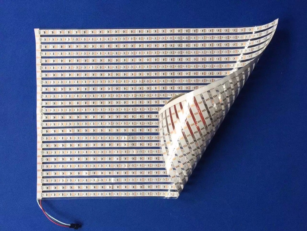 WS2813 addressable 30*30 pixels RGB full color flexible LED Pixel Panel Light;DC5V input 1195mm 145mm led panel light 21 8w dc24v input