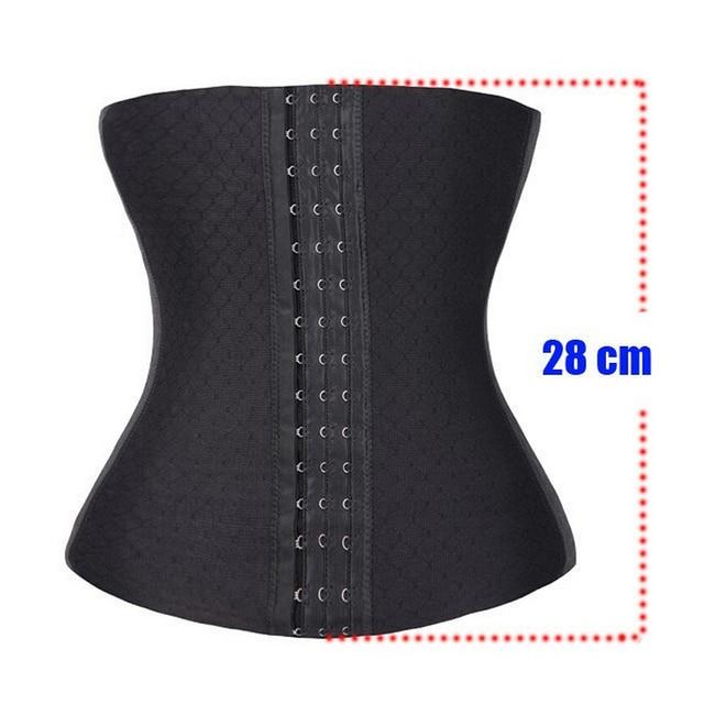 New Lady's Waist Tummy Slimming Body Shapewear Belt Corset Cincher Trimmer Girdle Latex Waist Trainer 1