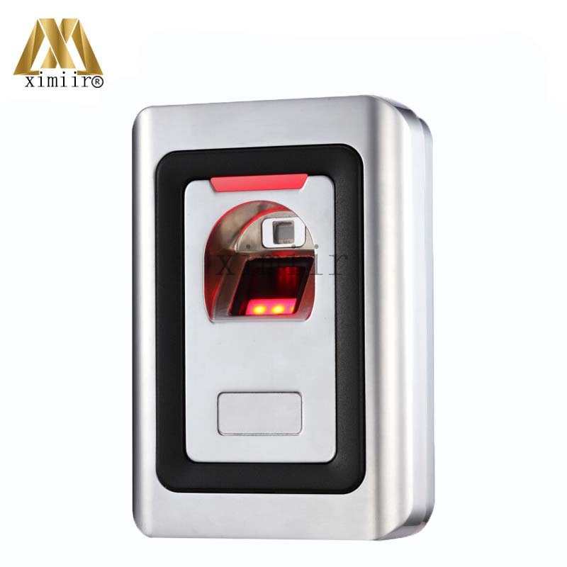 Fingerprint And RFID Card Access Control System 1000 Users Metal Fingerprint Reader Biometric Fingerprint Door Access Controller