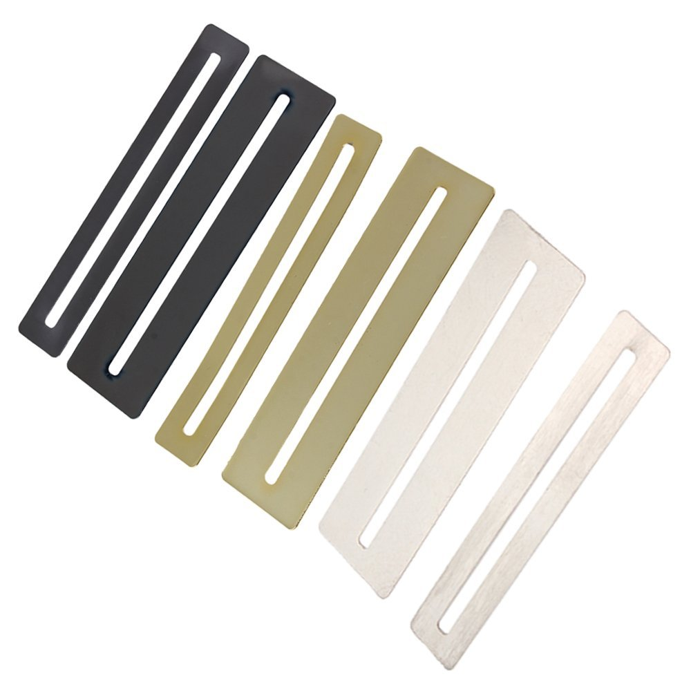 Bass/guitar Steel Fretboard Fingerboard Protector Flat Shape With 2pcs Exquisite Workmanship In