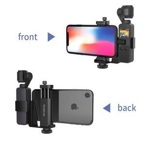 "Image 4 - Smatree OSMO, juego de soporte de teléfono de bolsillo, accesorios de expansión con tornillo de rosca de 1/4 ""para bolsillo DJI OSMO y teléfono inteligente"