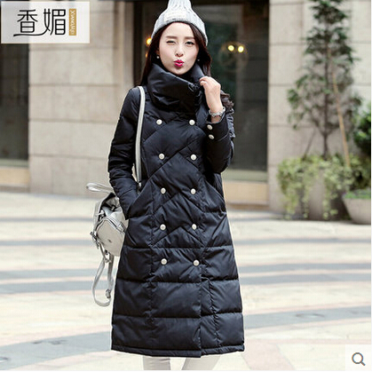 2016 new hot winter Thicken Warm woman Down jacket Coat Parkas Outerwear Slim Hooded Luxury long plus size XL Loose Cold 2016 new hot winter thicken warm woman down jacket coat parkas outerwear hooded luxury long plus size slim brands