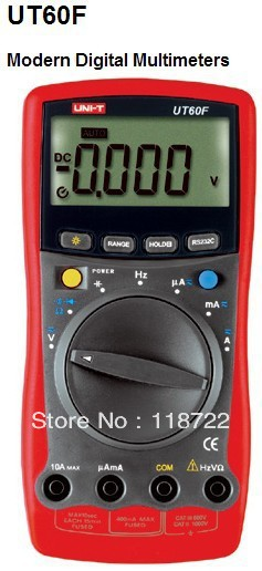 ФОТО UT60F Modern Digital Multimeter