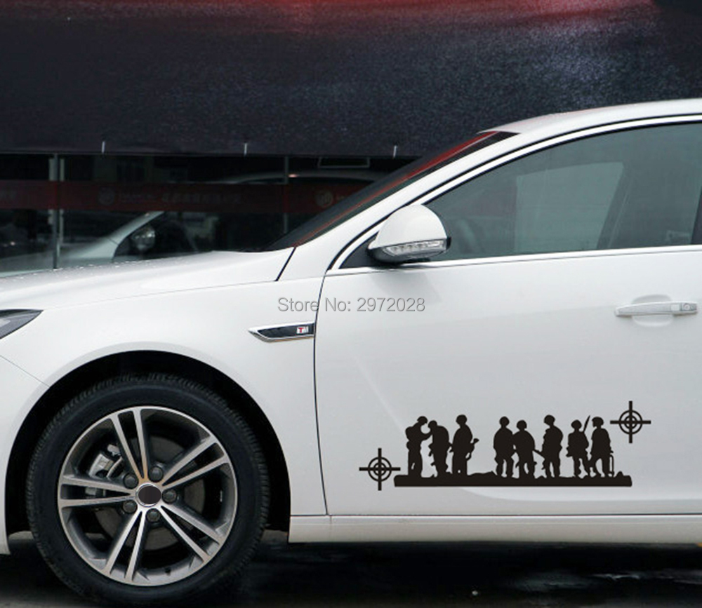 Us 459 8 Offnew Style Band Of Brothers Us Army Stickers Car Whole Body Decals For Bmw Benz Audi Fiat Toyota Honda Tesla In Car Stickers From