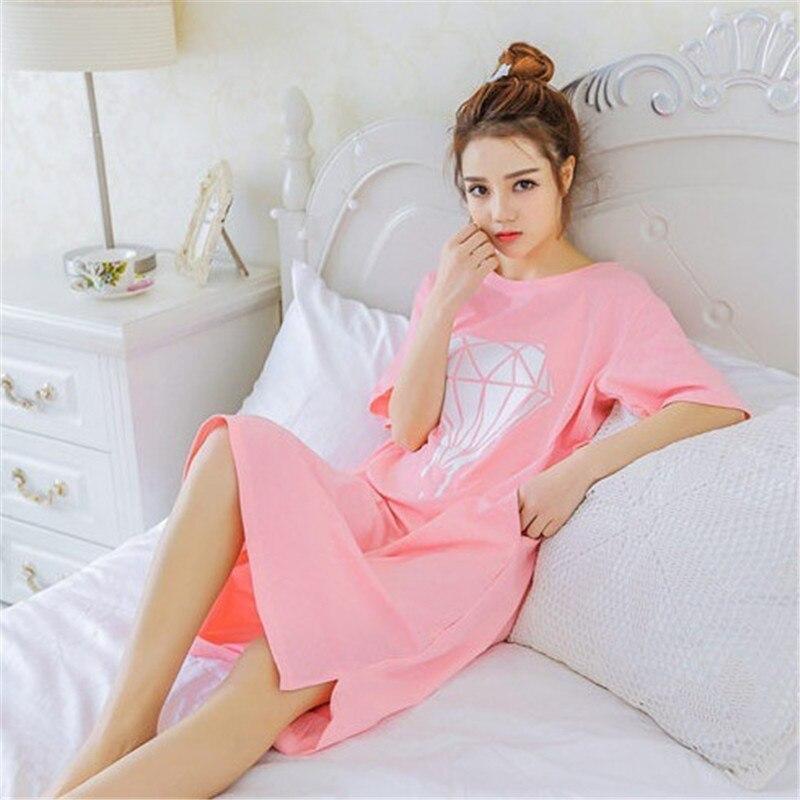 4e8bc4fce991 Nº2018 Nouveau style d été chemise de Nuit Chemise de Nuit pijama ...