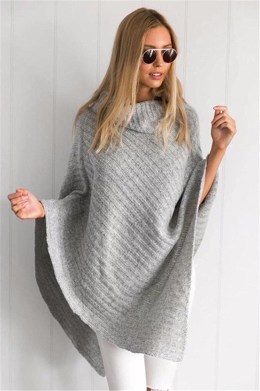 Aliexpress.com : Buy 2017 Women Winter Oversized Knitted Loose ...