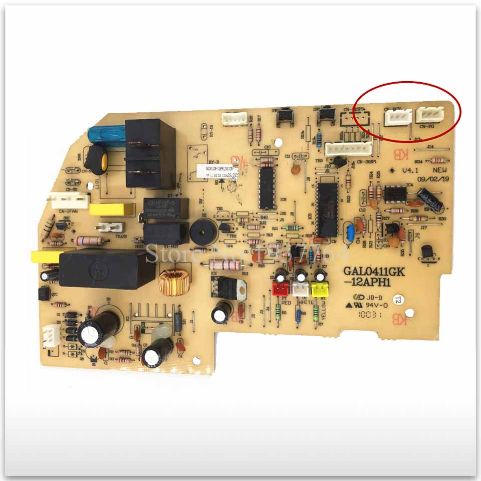 Air conditioning computer board GAL0411GK-12APH1 display board GAL0411GK-22EPH used board in stock english version ds 2cd1131 i replace ds 2cd2135f is ds 2cd2135f iws 3mp network camera with poe