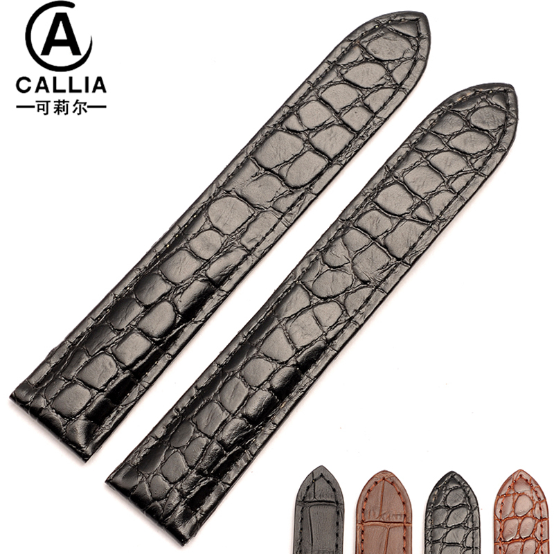 New Fashion Watch Strap Band For SANTOS 100 Leather Watchbands 18mm 20mm 24mm casual balanceds men and women Black Brown laopijiang men and women leather leather strap watch for car master 18 20 22mm