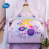 Princess Bedding Set for Girls Comforter Duvet Cover Bedroom Decor Queen Bed Sheet Pillowcases for Kids Bedroom Decor