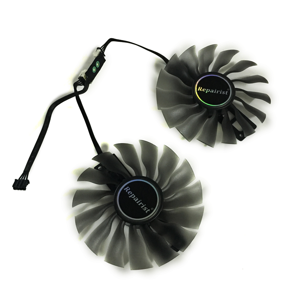 95MM FD10015H12S GTX 1080 1070Ti GPU Cooler VGA Card Fan For <font><b>GeForce</b></font> Palit GTX1080ti <font><b>GTX1070ti</b></font> Graphics Card As Replacement image