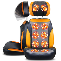 China 220V Airbag Massage Chair Fulbody Back Waist Neck Cervical Multifunctiona Vertebrate Massager Chair Cushion