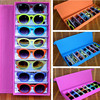 8 Grid Sunglasses Box Glasses Display Box Holder Waterproof Oxford Sunglasses Storage Boxes Case Hot New