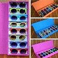 2017 8-Grid gafas de Sol Caja Oxford Cajas de Almacenamiento Caja Caja De Presentación Gafas A Prueba de agua gafas de Sol Hot New ES374