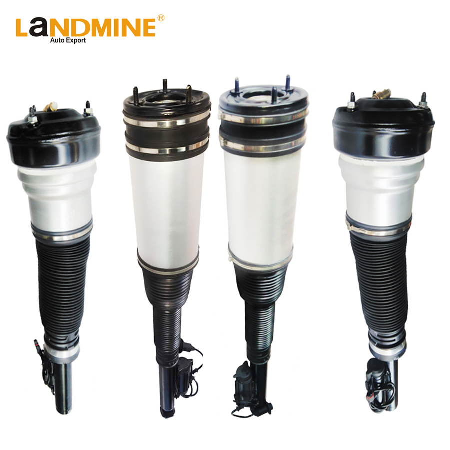 Free Shipping 4PCS Mercedes W220 S-Class Front and Rear Air Suspension Air Spring Strut Assembly  2203202438 2203205013