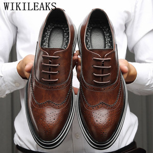 genuine leather shoes men form
