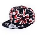 Protetor solar boné De Beisebol Marca gorras hip hop cap Snapback para o homem mulheres bandeira Britânica casquette chapéu gorro masculino osso